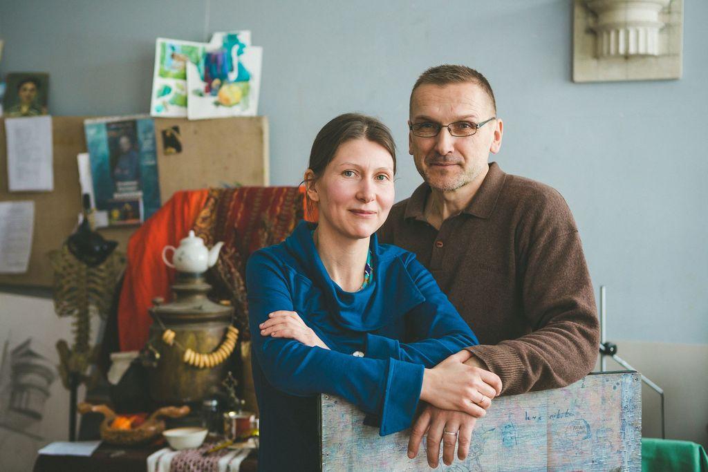 Татьяна Котегова и Александр Корляков