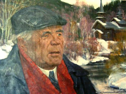портрет Виктора Асьафьева