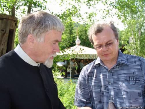 Валентин Курбатов и Юрий Беликов